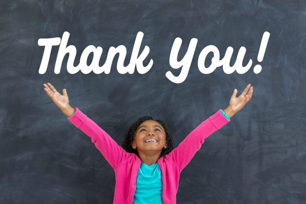 It's time to #ThankATeacher for Teacher Appreciation Day