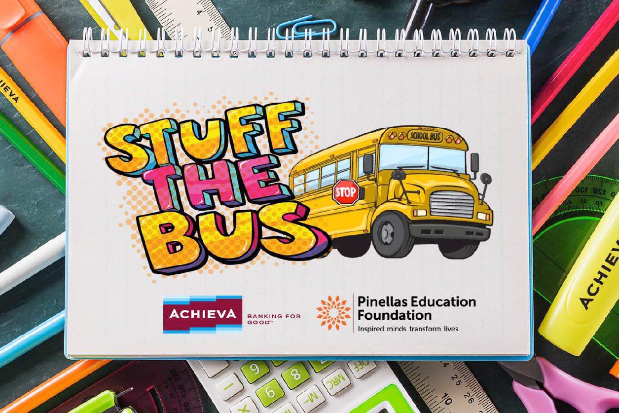 Stuff the Bus School Supply Drive